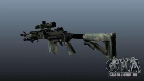 Rifle sniper M21 Mk14 v6 para GTA 4 segundo screenshot