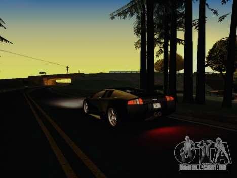 SA_RaptorX v 1.0 para PC fraco para GTA San Andreas oitavo tela