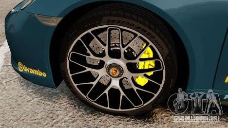Porsche 911 Turbo 2014 [EPM] Alpinestars para GTA 4 vista de volta