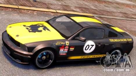 Shelby Terlingua Mustang para GTA 4 esquerda vista