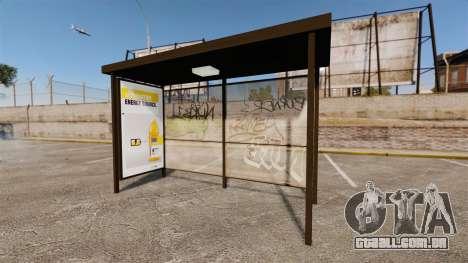 Novos cartazes de publicidade nas paragens de au para GTA 4 terceira tela