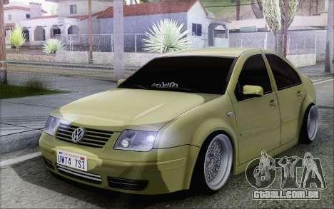 Volkswagen Bora Stance para GTA San Andreas