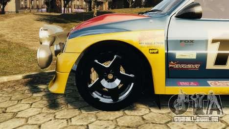 MG Metro 6r4 para GTA 4 vista direita