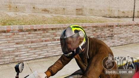 Uma coleção de capacetes Arai v2 para GTA 4 quinto tela