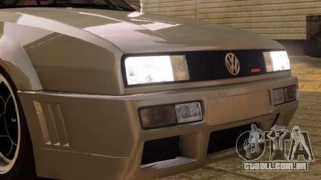 Volkswagen Corrado VR6 1995 para GTA 4 vista de volta