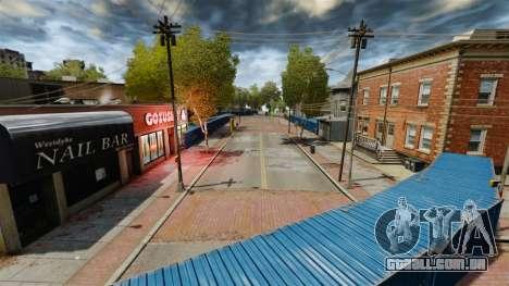Drift em torno da cidade para GTA 4 por diante tela