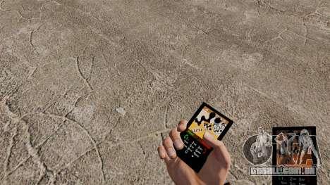 O tema para o telefone Walkman para GTA 4