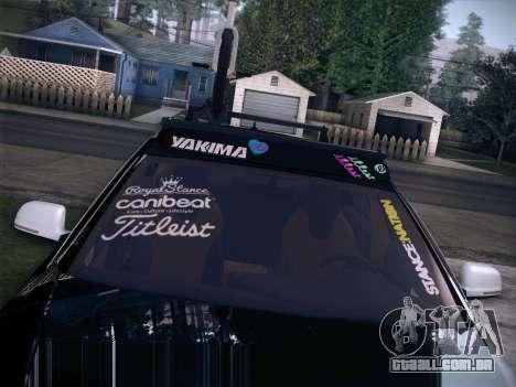 Audi Avant RS6 LowStance para GTA San Andreas vista traseira