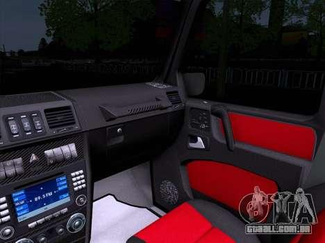 Mercedes-Benz G55 para GTA San Andreas vista traseira