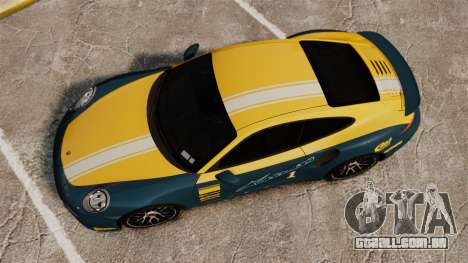 Porsche 911 Turbo 2014 [EPM] Alpinestars para GTA 4 vista direita