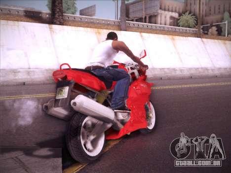 Ducati Supersport 1000 DS para GTA San Andreas vista direita