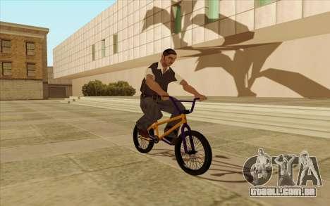 BMX para GTA San Andreas vista inferior