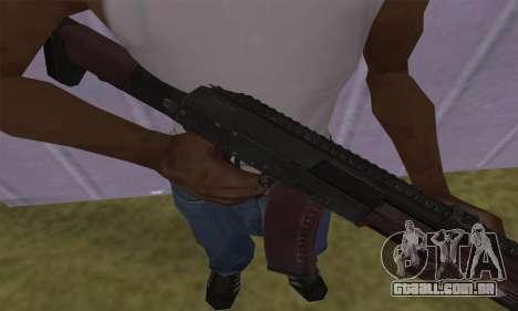 AK-12 para GTA San Andreas segunda tela