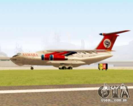 Il-76td Samara para GTA San Andreas traseira esquerda vista
