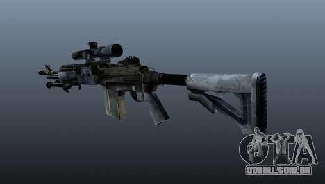 Mk14 M21 sniper rifle v2 para GTA 4 segundo screenshot