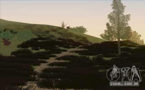 Behind Space Of Realities - Cursed Memories para GTA San Andreas nono tela