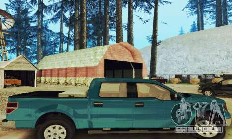 Ford F150 XLT Supercrew Trim para GTA San Andreas vista direita