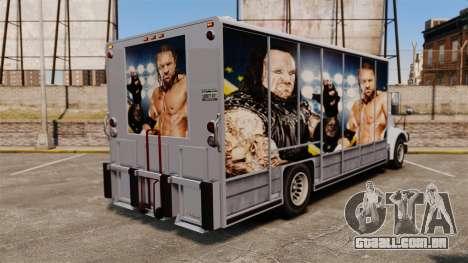 Estrelas do wrestling Benson para GTA 4 vista interior