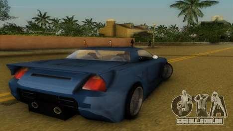 Toyota MR-S Veilside Hardtop para GTA Vice City vista direita