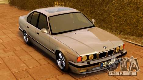 BMW M5 E34 1995 para GTA 4 vista direita