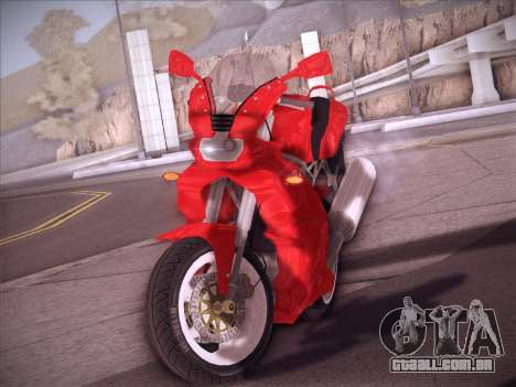 Ducati Supersport 1000 DS para GTA San Andreas vista traseira