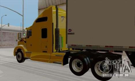 Kenworth T660 2011 para GTA San Andreas esquerda vista