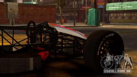 Formula Ford 1600 v1.0 para GTA 4 vista direita