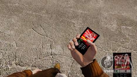 O tema para o telefone da Coca-Cola para GTA 4