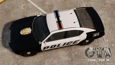 GTA V Buffalo Police para GTA 4 vista direita