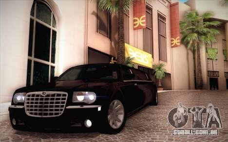 Chrysler 300C Limo 2007 para vista lateral GTA San Andreas