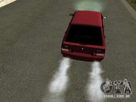 ВАЗ 2114 BPAN para GTA San Andreas vista traseira