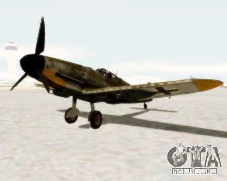 Bf-109 G6 para GTA San Andreas