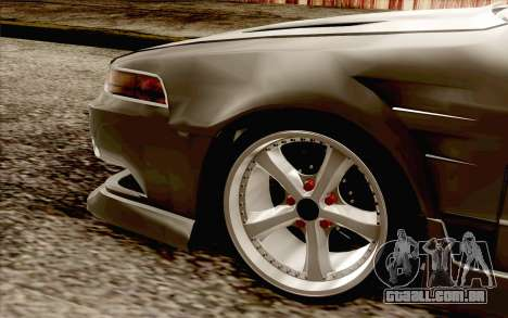 Nissan Cefiro A31 para GTA San Andreas traseira esquerda vista