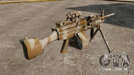 Luz metralhadora Mk 48 para GTA 4 segundo screenshot