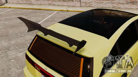 Extreme Spoiler Adder 1.0.7.0 para GTA 4 terceira tela