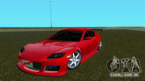 Mazda RX8 Type 1 para GTA Vice City