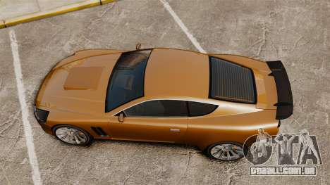 Super GT Ultra para GTA 4 vista direita