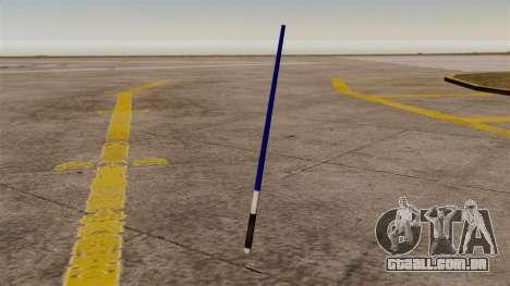 Espada laser azul Star Wars para GTA 4