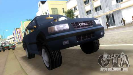 Opel Frontera para GTA Vice City deixou vista