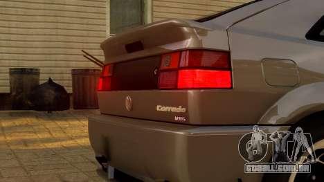 Volkswagen Corrado VR6 1995 para GTA 4 vista interior