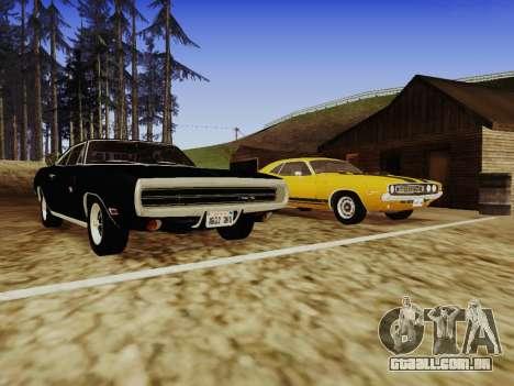 SA_RaptorX v 1.0 para PC fraco para GTA San Andreas décimo tela