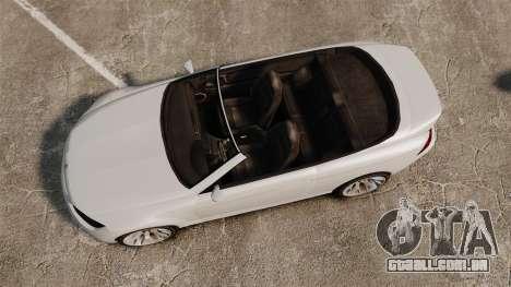 GTA V Zion XS Cabrio [Update] para GTA 4 vista direita