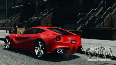 Ferrari F12 Berlinetta 2013 Modified Edition EPM para GTA 4 esquerda vista