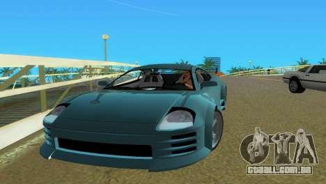 Mitsubishi Eclipse GT 2001 para GTA Vice City vista direita