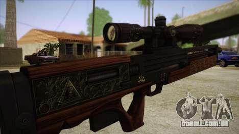 Walther WA2000 para GTA San Andreas terceira tela