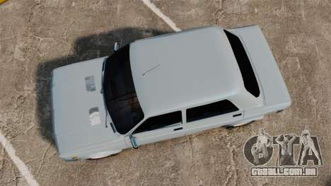 Zastava 128 para GTA 4 vista direita