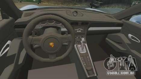 Porsche 911 Turbo 2014 [EPM] KW iSuspension para GTA 4 vista interior