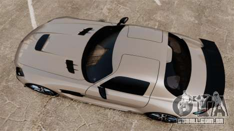 Mercedes-Benz SLS AMG Black Series 2014 para GTA 4 vista direita