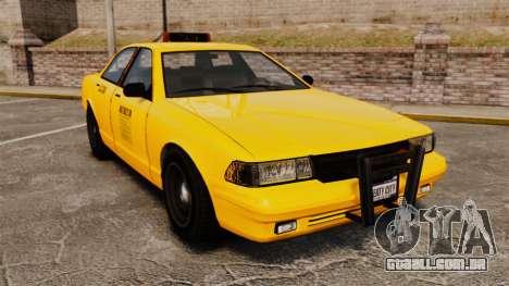 GTA V Gen Vapid LCC Taxi para GTA 4