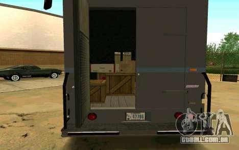 Boxville de GTA 4 para GTA San Andreas esquerda vista